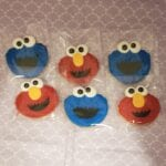 Cookie Monter & Elmo