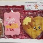Valentine Waffle Box set
