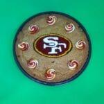 SF Superbowl Cookie Cake