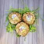 Coconut Carrot Thumbprint W/ Walnuts
