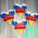 Patriotic Mickey Ice Cream