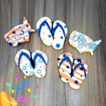 July 4 flip flops/USA