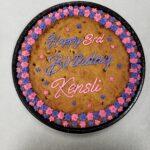 Birthday cookie cake
