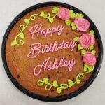 Birthday cookie cake3