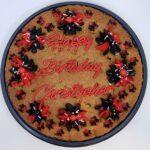 Birthday cookie cake5