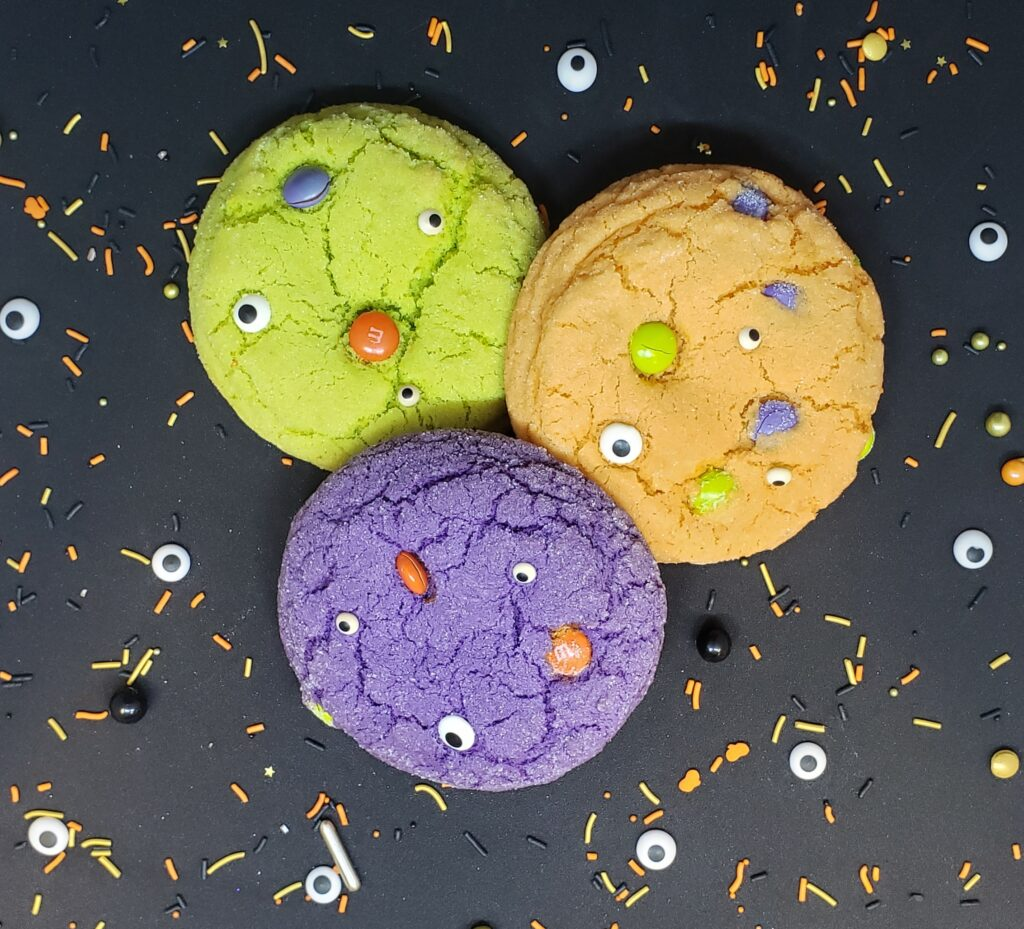 Spooky Eye Cookies
