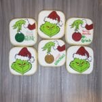 christmas grinch plaques