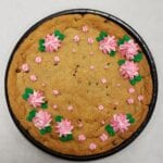 cookie cake flowers