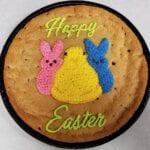 Easter Peeps Cookie cake